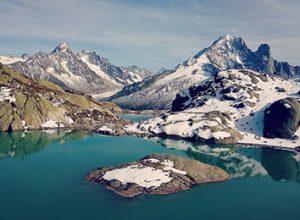 lac blanc chamonix hiver by lafelt