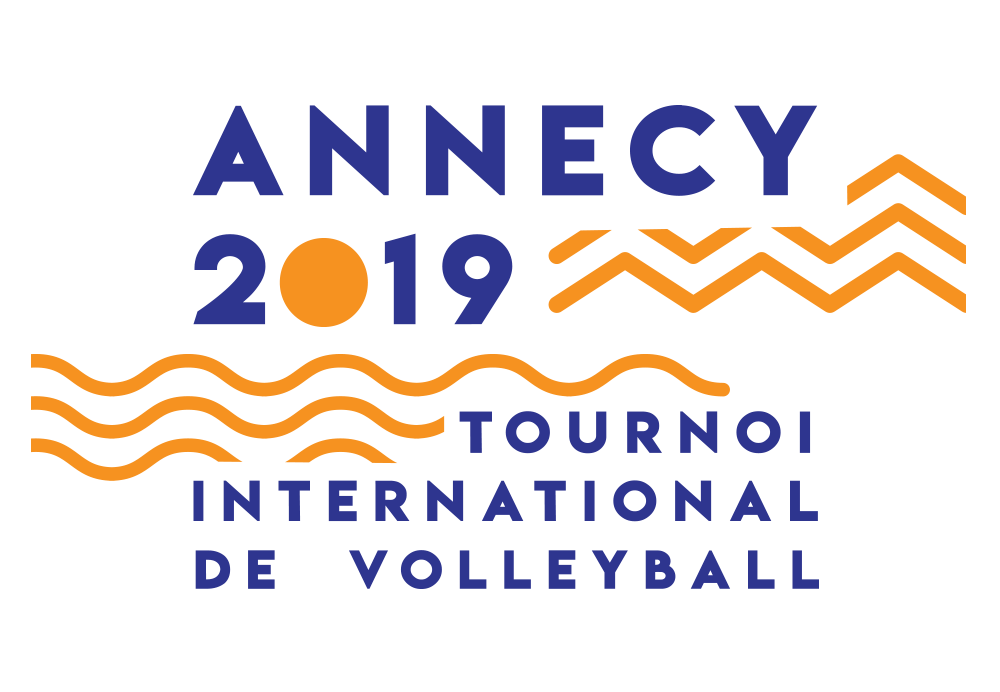 logo tournoi international de volley annecy 2019