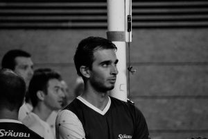 portrait photographie sport volley au corporate games annecy