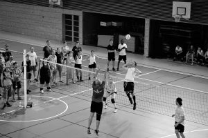 photographie sport volley au corporate games annecy