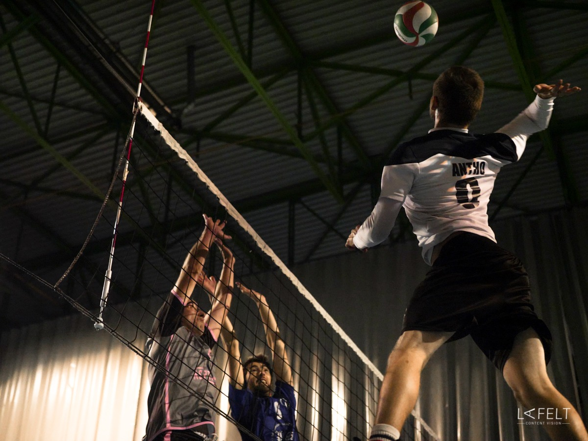 photographie pour l'equipe 4 du club annecy volley ball