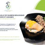 saumon plats signature bio pour la marque neaclub