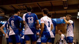 photographie sportive pour l'equipe de volley ball annecy masculine en nationale by lafelt