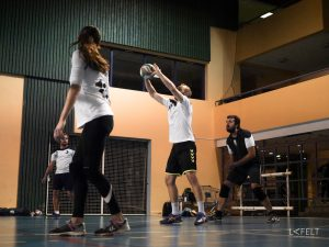photographie sportive équipe 5 annecy volley ball