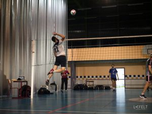 photographie sportive équipe 4 annecy volley ball