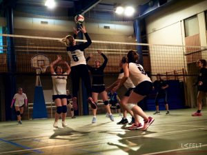 photographie sportive équipe 3 féminine annecy volley ball