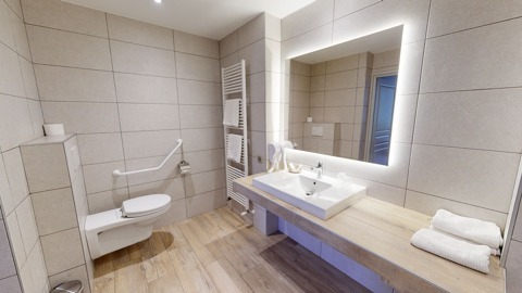 photos hd auberge immobilier aix les bains salle de bains