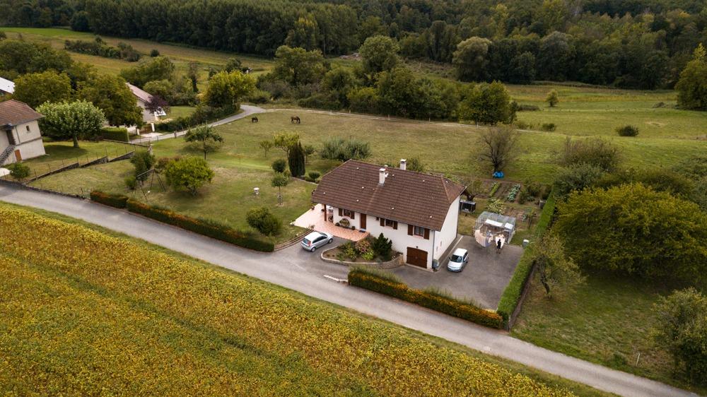 photo drone immobilier maison