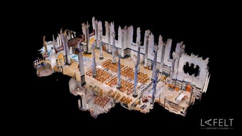 basilique de la visitation à annecy visite virtuelle 3d matterport lafelt