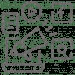 logo réseaux sociaux diffusion