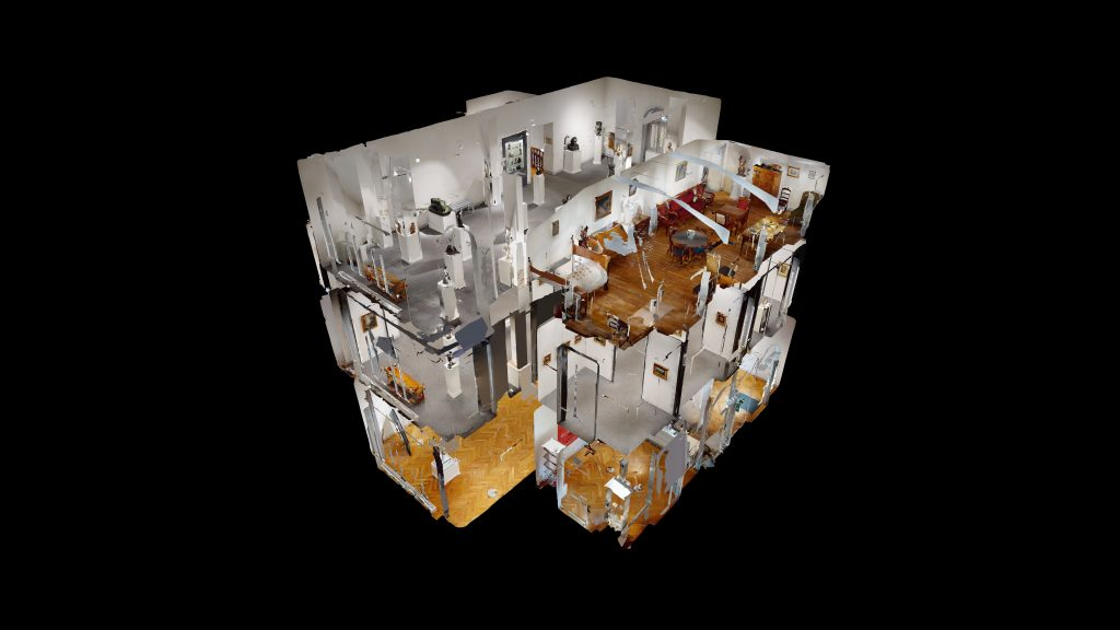 plan 3d du musée faure aix-les-bains