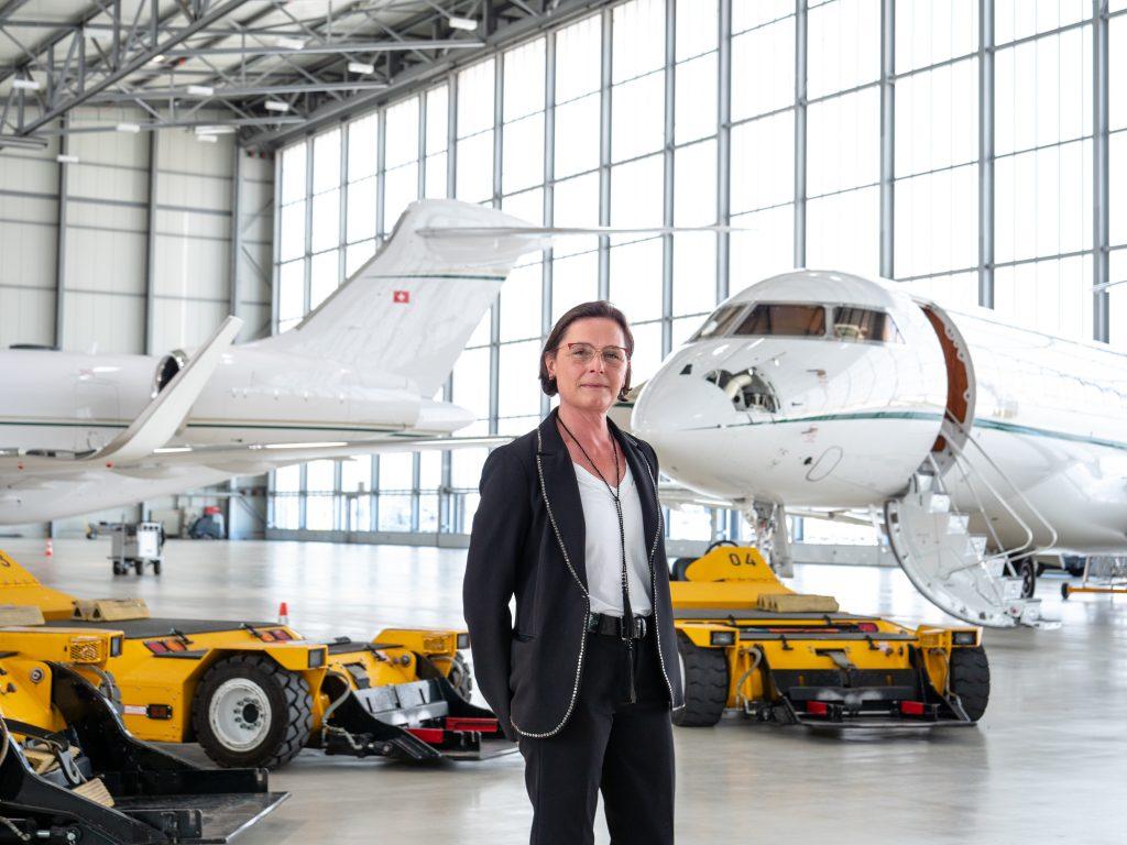 geneva air park hangar pour jet privé à geneve